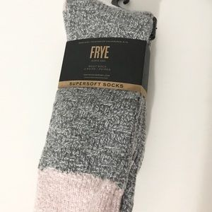 NWT (1) Frye Women's Boot Sock